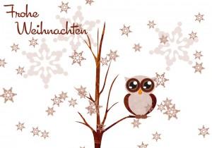 Weihnachtskarte AlexandraPreis.de von www.archinovum.de